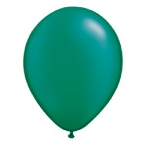 "11"" Pearl Emerald Green Balloons - Qualatex Latex Balloons 
